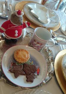 ケーキ,ぬいぐるみ,クリスマス,クッキー,紅茶,くま,イギリス風
