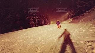 子どもスキーの写真・画像素材[943360]