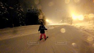 子どもスキーの写真・画像素材[943361]