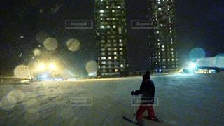 娘のスキーの写真・画像素材[944923]