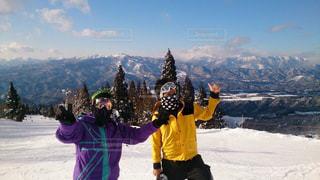 男性,空,冬,雪,屋外,晴れ,雪山,山,男,スキー,スキー場,ウィンター,スノーボード,斜面,ウィンタースポーツ,白銀,高須スノーパーク