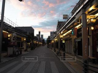 街の通りの写真・画像素材[1395792]