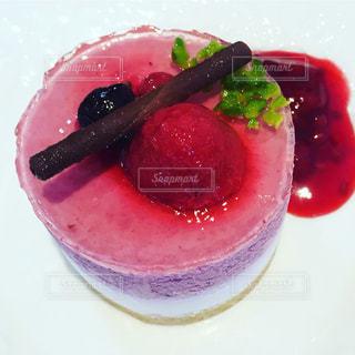 #ケーキ  #いちごのムースケーキ  #カフェ  #instafood