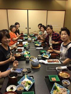 グループ,instagoodinstalike,瀬戸内魚介類,食事会 ホテルランチ