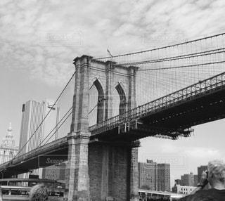 ブルックリンブリッジの写真・画像素材[813388]