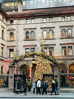 冬,ニューヨーク,アメリカ,イルミネーション,クリスマス,ホテル,エントランス,クリスマスツリー,パレスホテル,ゴシップガール,五番街