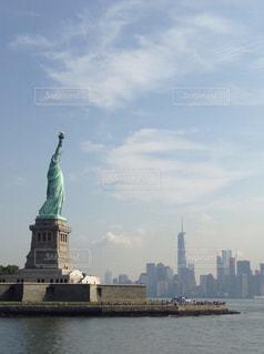 空,ニューヨーク,海外,雲,アメリカ,観光,旅行,マンハッタン