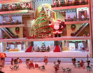 冬,ニューヨーク,屋外,海外,アメリカ,観光,旅行,クリスマス,マンハッタン,デコレーション,ショーウィンドウ,デパート,メイシーズ,からくり人形