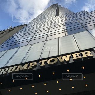 空,建物,ニューヨーク,ビル,雲,アメリカ,観光,旅行,マンハッタン,トランプタワー
