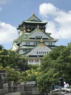大阪城の写真・画像素材[1021894]