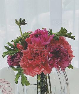 優しい光と花の写真・画像素材[2176243]