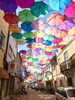 傘の写真・画像素材[580463]