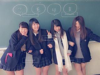 学生,仲良し,友達,高校,卒業,制服,娘