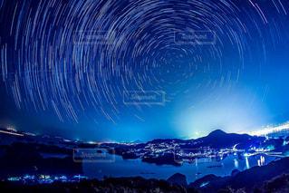 海,夜景,星空,長崎,佐世保