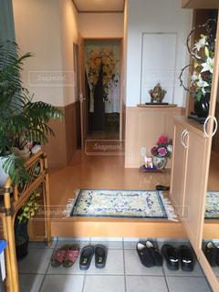 玄関の写真・画像素材[662427]