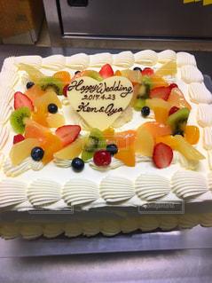 ケーキ,フルーツ,手作り,豪華に