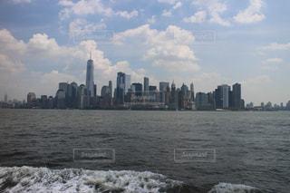 海からニューヨークの写真・画像素材[997024]