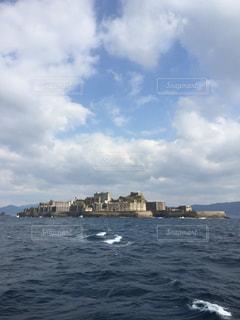 軍艦島の写真・画像素材[1040092]