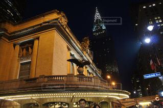 夜景,アメリカ,観光,旅行,NYC,Grand central station,クライスラービル