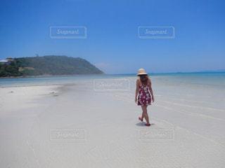 海,ビーチ,砂浜,旅行,タイ,サムイ島