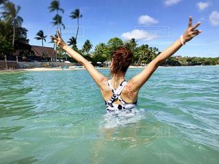 海,ビーチ,砂浜,旅行,タイ,サムイ島,タトゥー