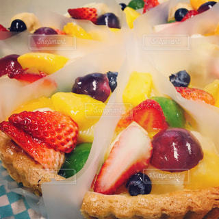 ケーキ,フルーツ,タルト,キラキラ,宝石,ホール