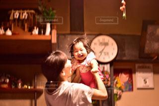 笑顔の子供の写真・画像素材[724009]