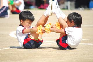 幼稚園最後の運動会 組立体操 - No.776530
