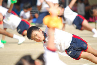 幼稚園最後の運動会😊👍の写真・画像素材[779308]