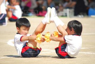 年長さん幼稚園最後の運動会🤗の写真・画像素材[794247]