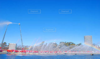 水の体のボートの写真・画像素材[1103245]