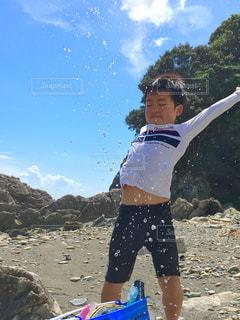 海遊び 海大好き💕の写真・画像素材[1420744]