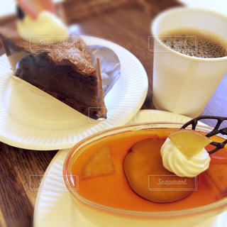 スイーツ,カフェ,秋,ケーキ,コーヒー,休憩,甘い,ガトーショコラ,チョコ,さつまいも,プチプラ