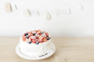 スイーツ,インテリア,ケーキ,いちご,おやつ,イベント,クリスマス,パーティー,クリスマスツリー,Sweets,クリスマスケーキ,手作りケーキ,甘いもの,ホームパーティー,いちごサンタ