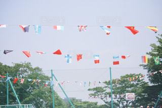 青空と国旗達 - No.789200