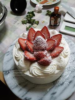 ケーキ,苺,手作り