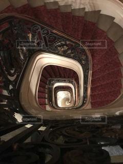 螺旋階段の写真・画像素材[2211010]