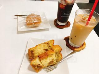 カフェ,ケーキ,ランチ,デザート,カフェオレ,シフォンケーキ