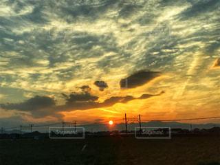 夕日の写真・画像素材[1465286]
