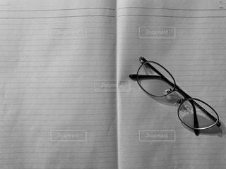 白いノートの写真・画像素材[2981968]