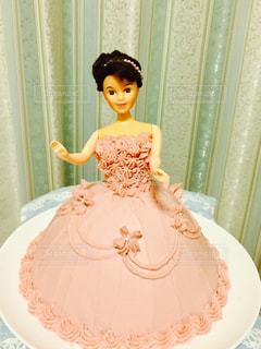 ケーキ,苺,ストロベリー,プリンセス,3Dケーキ