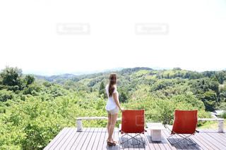 山小屋カフェの写真・画像素材[2254227]