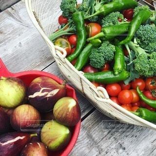 野菜といちじくの写真・画像素材[4157476]