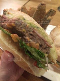 ハンバーガーの写真・画像素材[512741]