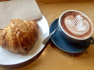 カフェ,コーヒー,クロワッサン,cafe,ラテアート,オーストラリア,ラテ,メルボルン,WAYS & MEANS
