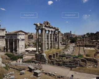 イタリア ローマ フォロ・ロマーノの写真・画像素材[787845]