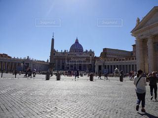 バチカン市国 サン・ピエトロ大聖堂の写真・画像素材[787859]