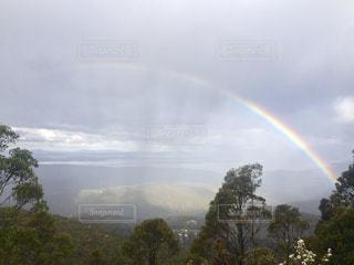 虹,山,登山,旅,未来,オーストラリア,夢,ポジティブ,タスマニア,可能性