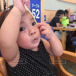 食事,うどん,赤ちゃん,お寿司,こども,おいしい,ほっぺた,ベビーフェイス