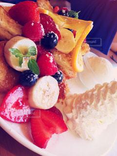 パンケーキ,フルーツ,ベリー